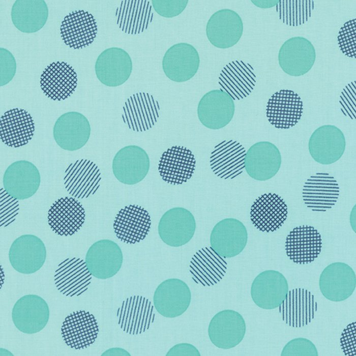 Color Theory - Dots Teal