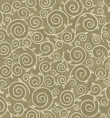 Chablis - tan scrolls