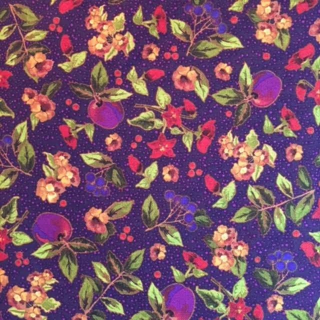 Autumn Harvest - purple fruits/flowers