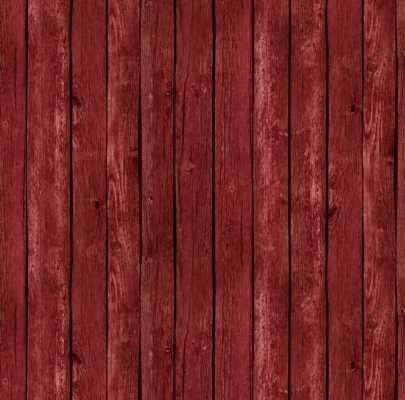 Landscape Medley/Farm Animals - red barnwood