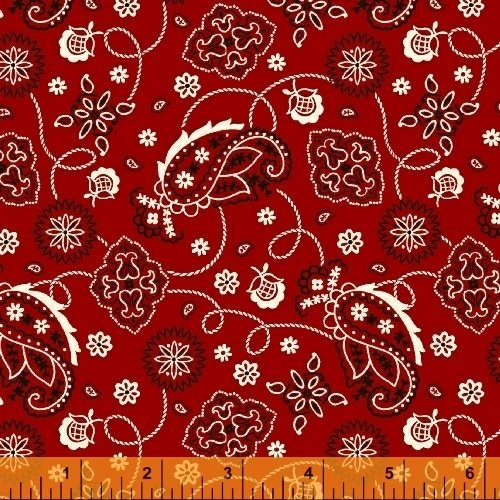 Cattle Drive--bandanna red