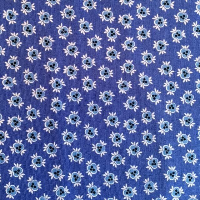 Babette -  blue tonal flowers