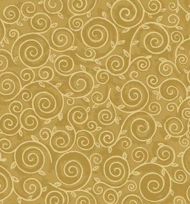 Chablis - gold scrolls