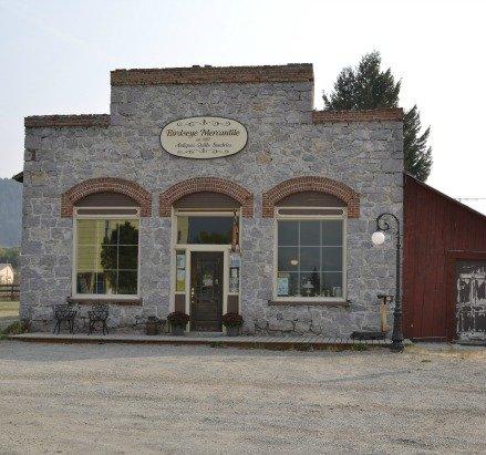 The historic Birdseye Mercantile