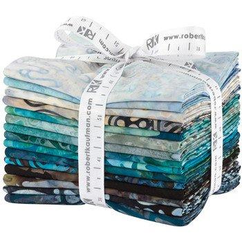 Artisan Batiks: Natures Textures rain fat quarter bundle (15 skus)
