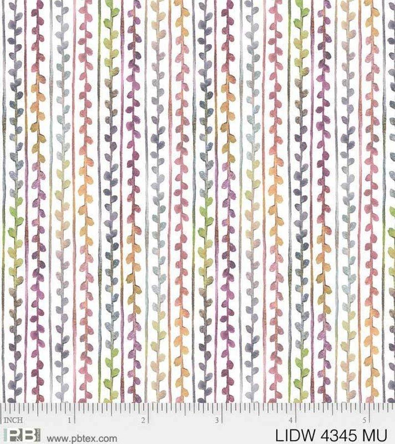Little Darling Woodland Small Vine stripe