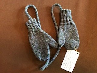 Childrens Wool Mittens