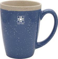 Mug Quilt Happy blue
