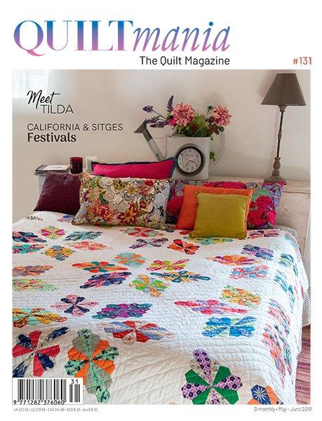 Quiltmania #131 magazine