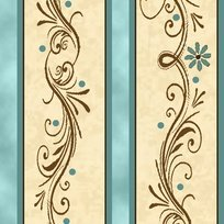 Amazing Grace Teal Decorative Scroll