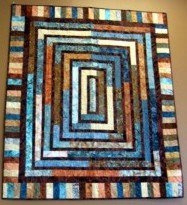 Round & Round Quilt : piano key quilt border - Adamdwight.com