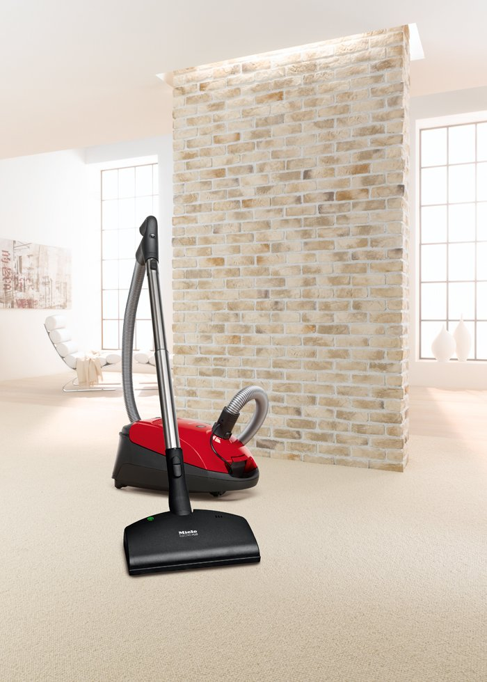 Miele Classic C1 Titan Red Vacuum Cleaner