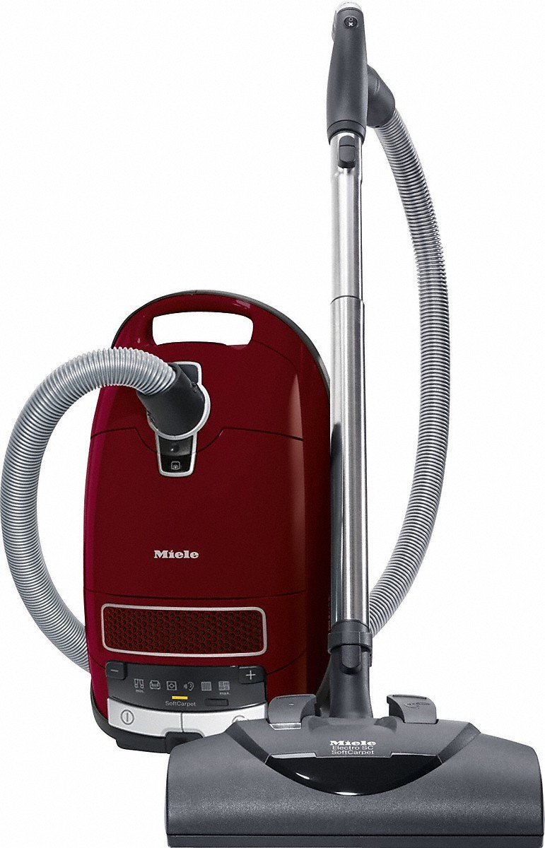 Miele Complete C3 SoftCarpet PowerLine Vacuum Cleaner SGFE0 Red