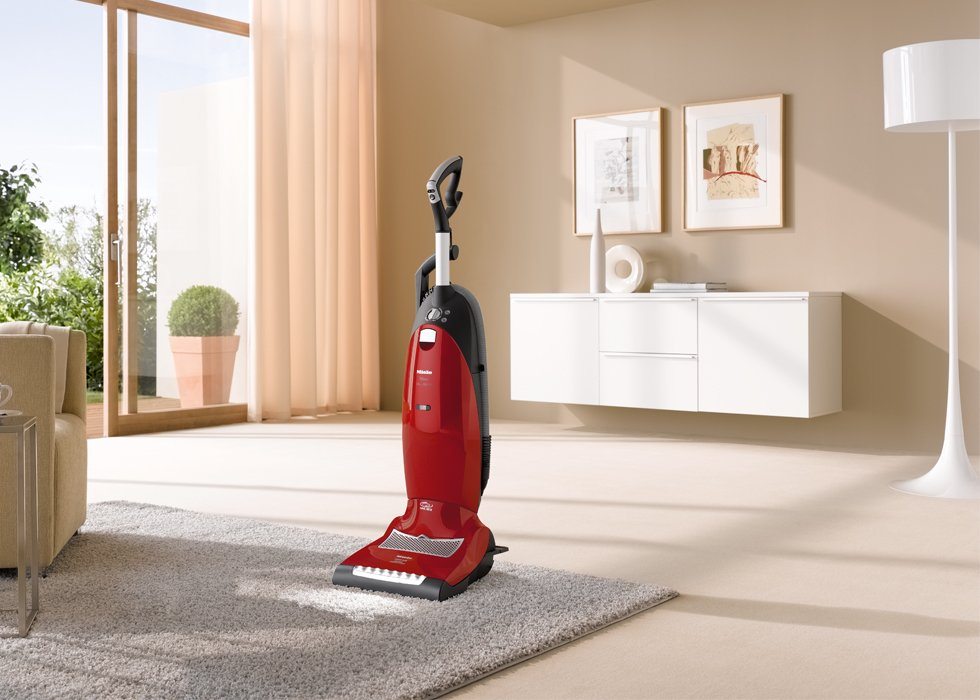 Miele Dynamic U1 Salsa Upright Vacuum Cleaner Dark Red
