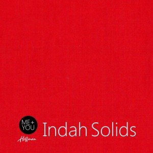 Indah Hand Dyed Solid (100-629) Deep Red