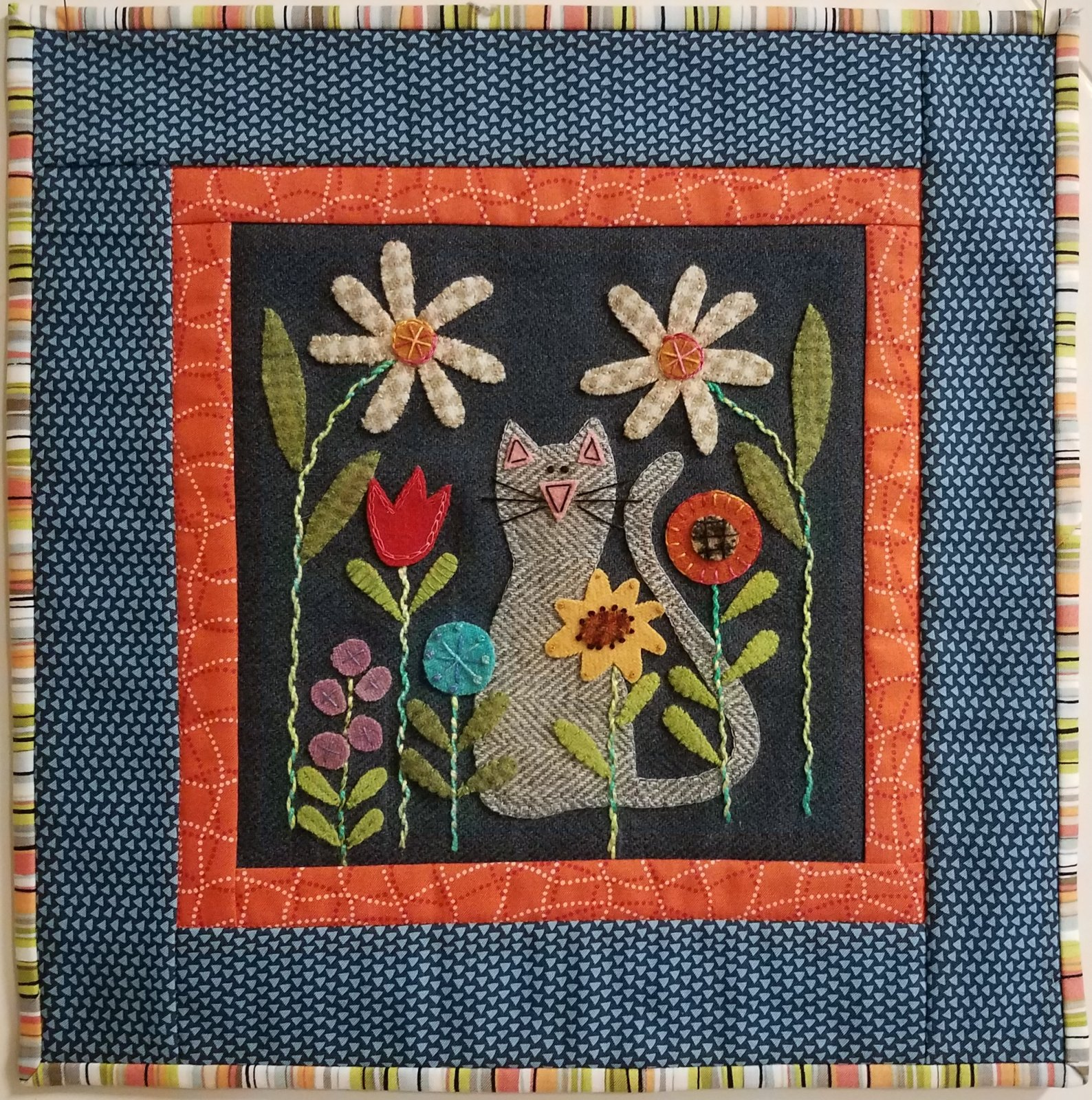 2018  Wooly Block Adventure  Pattern Only<br>In The Garden