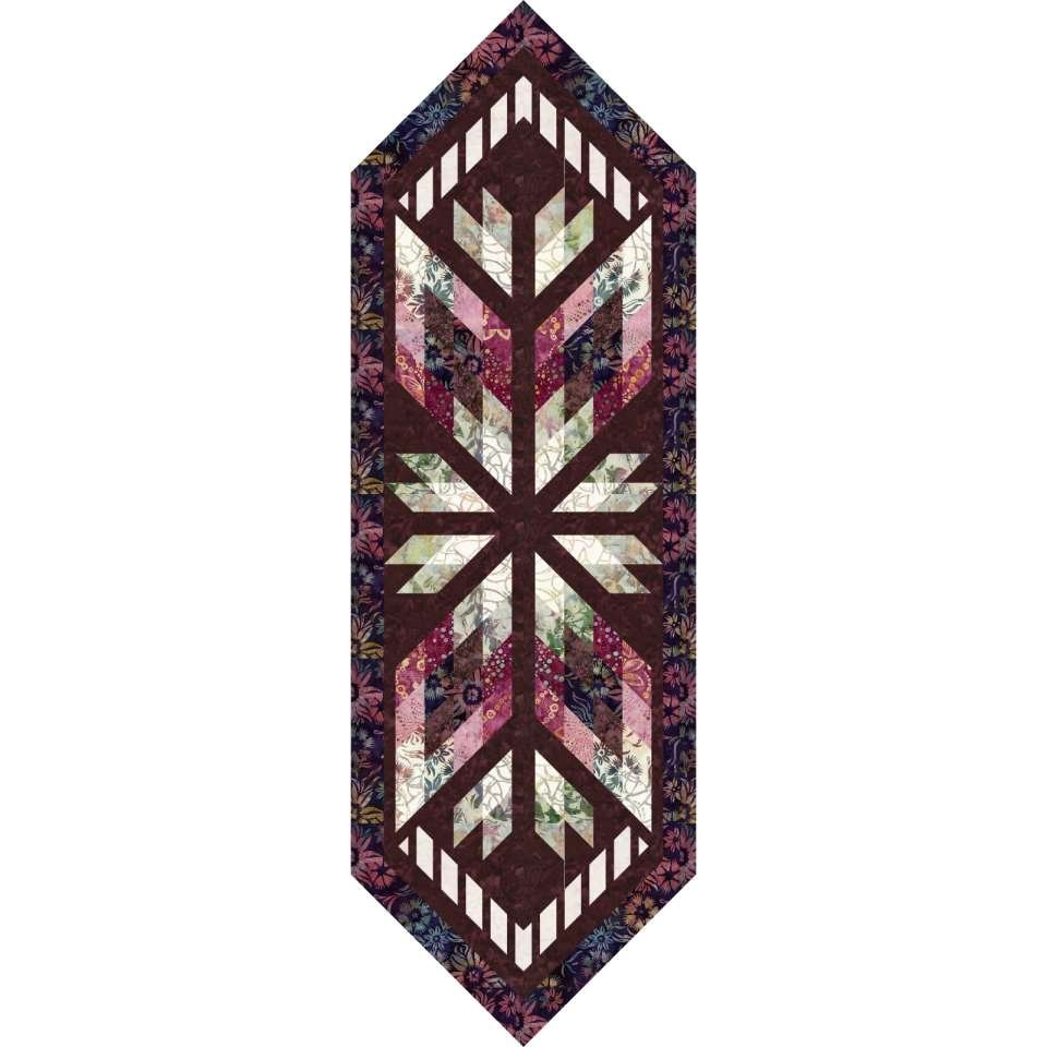 Prism Table Runner Kit - Star Anise Colorway