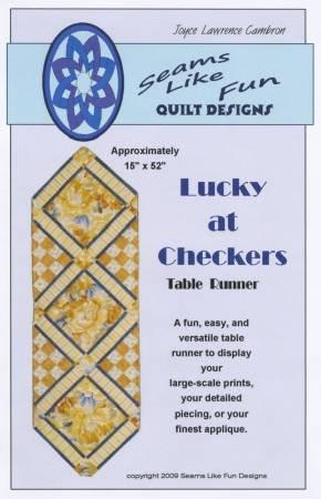 Lucky At Checkers (M) - Seams Like Fun Designs