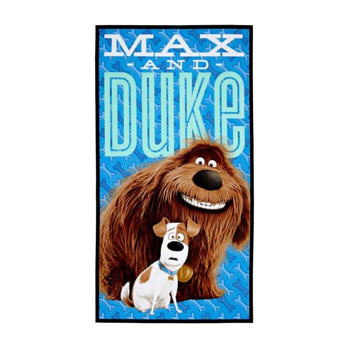 Secret Life of Pets (Max & Duke) Fabric Panel