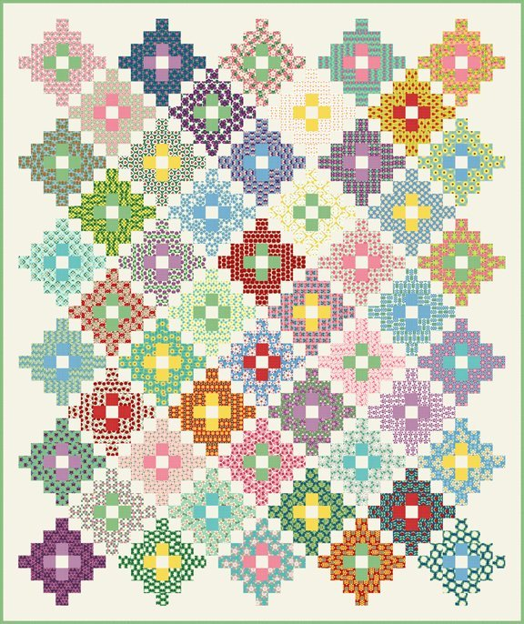 Americ'a Garden Quilt - Complete Kit