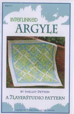 Interlinked Argyle   By 7LayerStudio