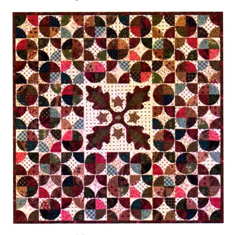Autumn Tapestry - Medallion Quilt