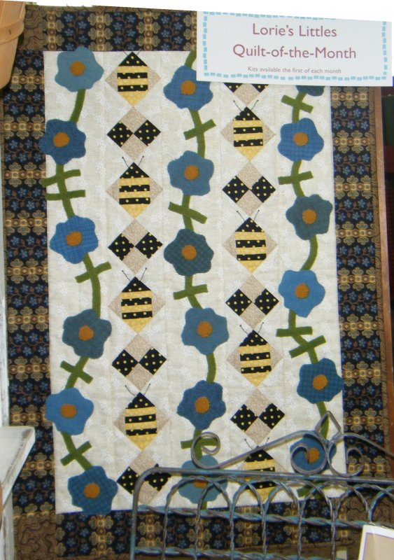 Bees and Blossoms Quilt Kit