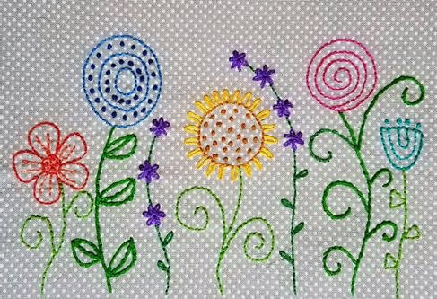Beginning Hand Embroidery Class Kit