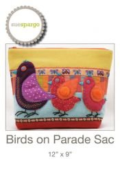 Birds On Parade Sac By Sue Spargo
