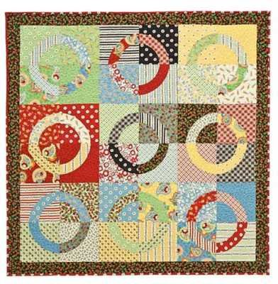 Cherries Jubilee Quilt