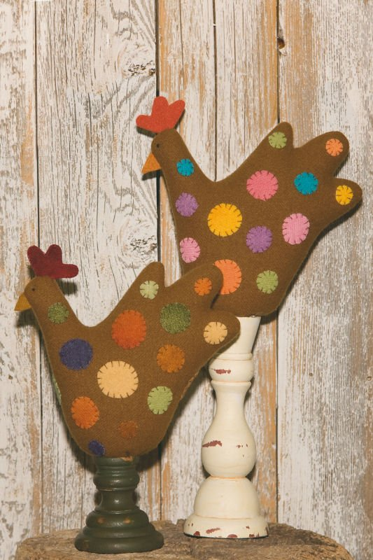 Chicken Pin Pal Pincushion <br> Waltzing With Beaars