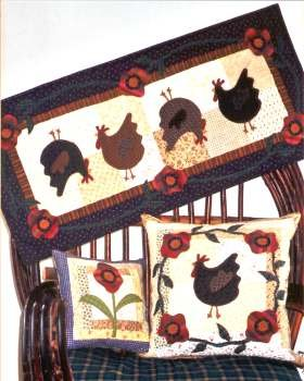 Chickens in the Garden <br> By Waltzing With Bears