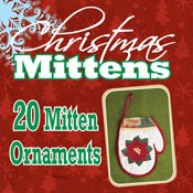 Christmas Mittens Ornaments <br> By Dakota Collectibles