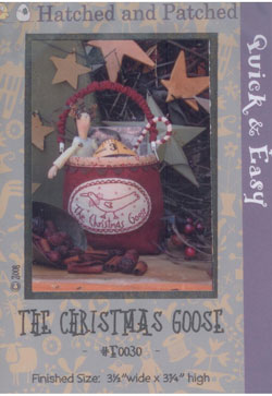 The Christmas Goose   By Hatched & Patched