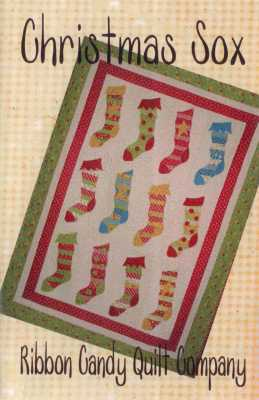 Christmas Sox   By Ribbon Candy Quilt Company