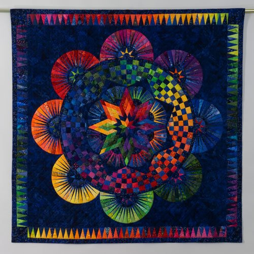 Circle of Life By Jacqueline de Jonge <br> Be Colourful Quilts