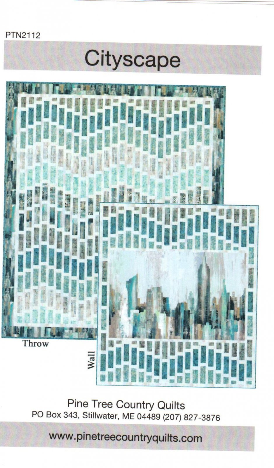 Cityscape By Nine Mile Patterns