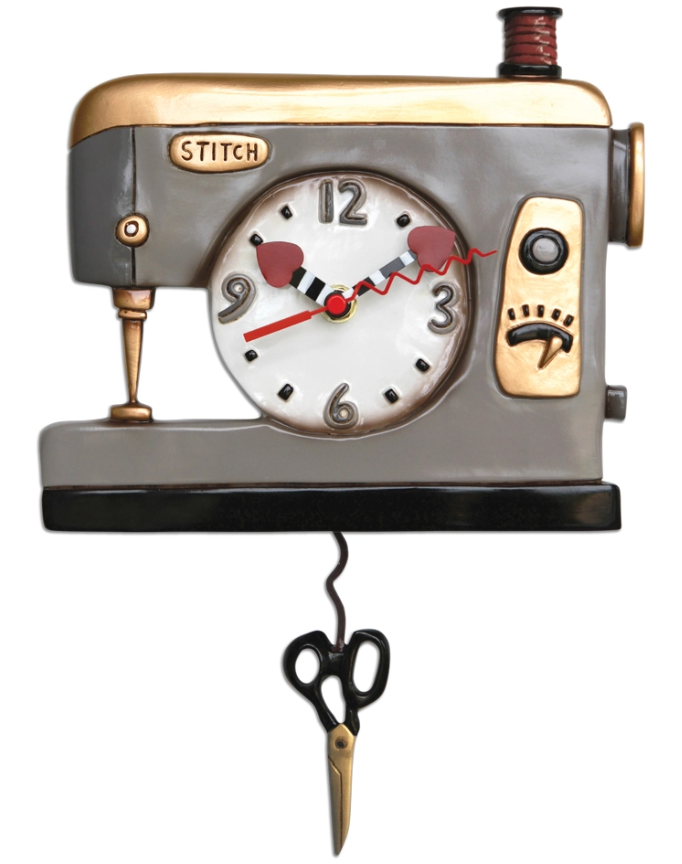 Back Stitch Clock By Allen Designs