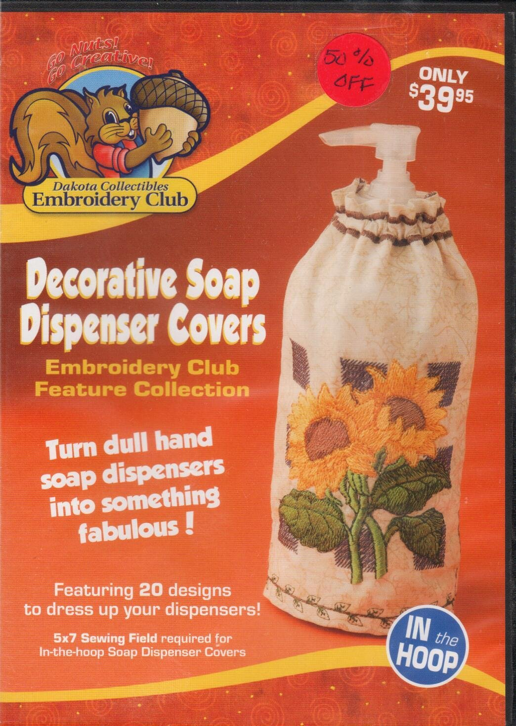 Decorative Soap Dispenser Covers