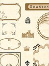 Downton Abbey Logos & Labels Collection 7670-L