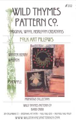 Fold Art Pillows   By Wild Thyme Pattern Co.