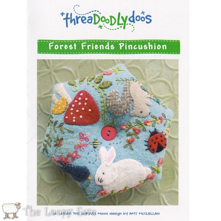 Forest Friends Pincushion By Threadoodlydoos
