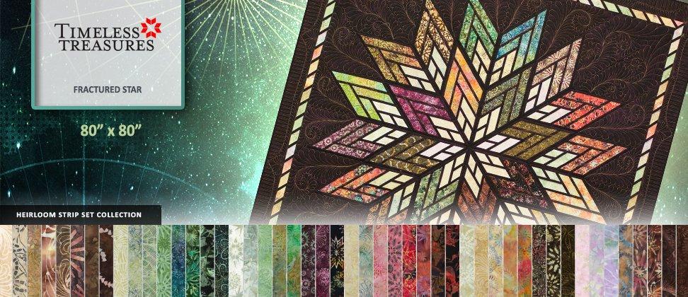 Fractured Star - Judy Niemeyer - Quiltworx.com