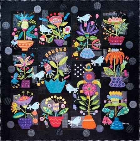 Fresh Cut Block of The Month <br> By Sue Spargo