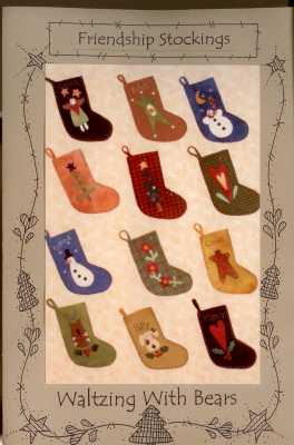 Friendship Stockings   <br> By Waltzing With Bears