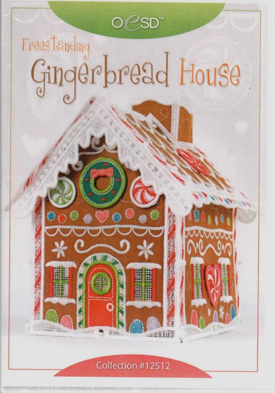 Freestanding Gingerbread House