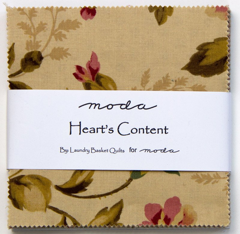 Hearts Content Charm Pack