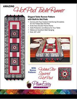 Amazing Hot Pad Table Runner