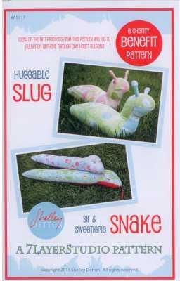 Huggable Slug & Sweetiepie Snake   By 7LayerStudio