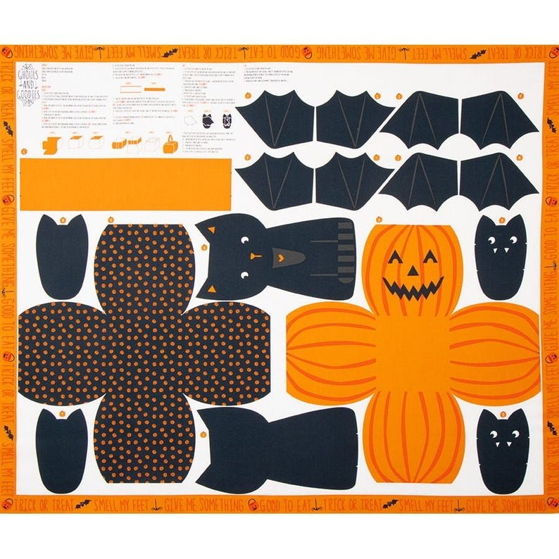 Ghouls & Goodies - Cut and Sew  20680-11